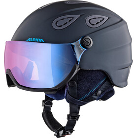 Alpina Grap Visor 2.0 HM Ski Helmet nightblue matt